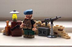 Lego modern combat Afghanistan minifigure