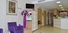Da ufficio a studio dentistico: rifacimento impianti, pavimenti in gress, partizioni con sistemi a secco Knauf con schermature rx e partizioni vetrate mobili in ingresso