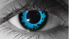 Blue Elf Halloween Contacts
