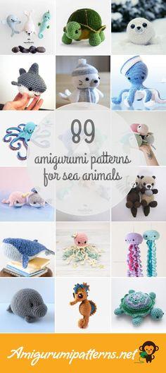 89 Sea Animals Amigurumi Patterns