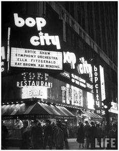 Bop City NYC by Martha Holmes, 1949