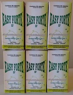 6 PACK EASY FORTE WEIGHT LOSS 100% ORIGINAL 30 CAPSULES APETITE CONTROL 6 CAJAS Weight Loss Supplements, 6 Packs, Easy, The 100, Packing, Personal Care, The Originals, Crates, Bag Packaging