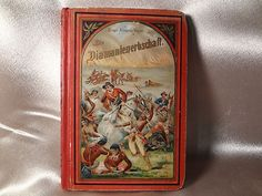 Early 1900's German Edition Book of Cavalry / Indians War.  *s