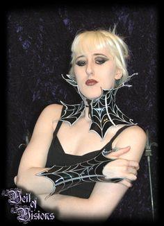 Big spider net style collar. £30