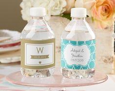 Etichette per bottiglie personalizzate (Matrimonio)