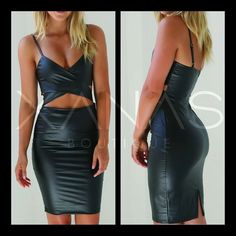 The Spagetti Strap Plunge Bodycon Dress is an amazing dress. This is one of our hot picks - One that will have you feeling like a goddess  http://ift.tt/1Jl3xCR  #xanasboutique #pu #bodycondress #cutoutdress #pudress #winternights #lfw #ootd #europefashion #fashionismo