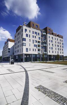 Komerční focení obytného komplexu Rezidence Nová Karolina pro Gemo