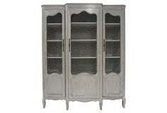 French 3-Door  Armoire from One Kings Lane.