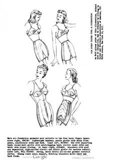 The history of lingerie. What bras, girdles, slips and underwear or panties did women wear? What did they look like? How to wear them today? Vintage Girdle, Vintage Underwear, Vintage Lingerie, Bra Lingerie, Marcel Rochas, Ropa Interior Vintage, Full Figure Lingerie, 1940s Woman, Gaines