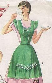 Resultado de imagen de Vintage Half Apron Patterns