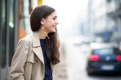 Diletta Bonaiuti wearing Louis Vuitton Single Earring | No. 29 - Diletta Bonaiuti - The Cut