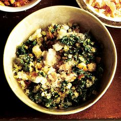 Green Kale Breadcrumbs by Cooking Light