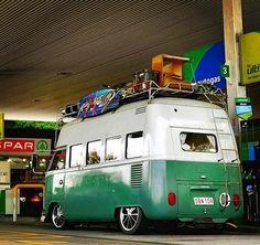 1965 T1 VW Camper bus Highroof vintage