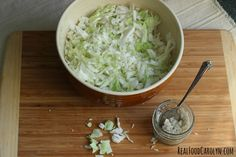 Easy tutorial on How to Make Sauerkraut, a traditional lacto-fermented food.