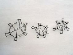 Turtle Wire Sculpture by WiredbyBud on Etsy, $50.00