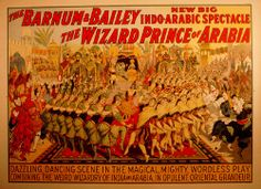 old circus poster by thepixelarchitect, via Flickr