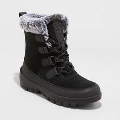 Black Winter Boots, Winter Shoes, No Heel Boots, Waterproof Winter Boots, Boots For Sale, Mid Calf Boots, Black 7, Fashion Boots, Fashion Outfits