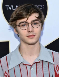 Miles Heizer at the TV Land Awards in April 2015...