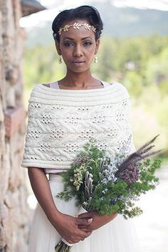 Solstice Capelet Knitting Pattern Download