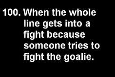 I <3 my goalie.