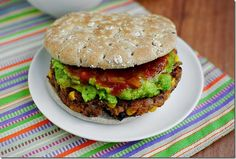 Chipotle Black Bean Burgers taste like Morningstar Farm's version, except they're fresher, and even tastier! | iowagirleats.com