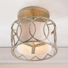 Circlet Semi Flush Ceiling Light