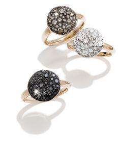 Pomellato Sabbia Black Diamond Ring by Pomellato from Amanda Pinson Jewelry