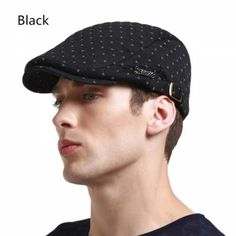 efd5dbdb00071 Winter flat cap for men fashion casual style Winter Flats