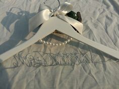 This is your wonderful personalized Wedding Dress Hanger. This personalized hanger is unique design for you, it is a best gift for wedding or anniversary party.