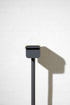 2a4686dfcd a colorful modern lockable mailbox by TomTom Lockable Mailbox, Mailbox  Lock, Mail Room,