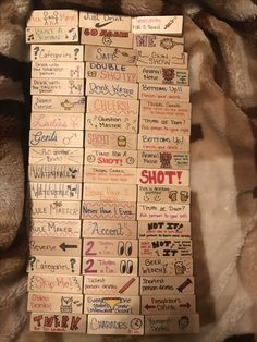 29 Trendy Ideas Drinking Games For Adults Jenga Diy Party Games, Sleepover Games, Adult Party Games, Adult Games, Ideas Party, Diy Party Jenga, Party Games For Adults, Adult Party Ideas, Adult Game Night Party