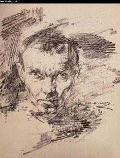 Nikolay Fechin Self-Portrait