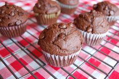 Scrumptious Double-Chocolate Muffins