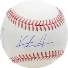 Keston Hiura Milwaukee Brewers Autographed Baseball #signedbaseball #steiner #rookiecard99 Christian Yelich, Gold Gloves, Autographed Baseballs, Milwaukee Brewers, Major League, Mlb, Hologram, Things To Sell
