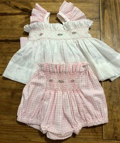 Smocked Baby Clothes, Smock Dress, Spring Dresses, Baby Boy Outfits, Smocking, Babys, Kids Fashion, Crafting, Two Piece Skirt Set