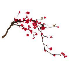 Pesquisa no Google.com Japanese Blossom, Japanese Art, Japanese Cherry Blossoms, Japanese Watercolor, Watercolor Paintings, Chinese Painting, Chinese Art, Cherry Blossom Painting, Blossom Tattoo
