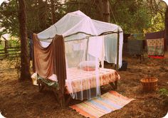 Camping under a Canopy