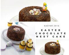 Easter Chocolate Nest Cake..