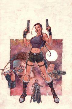 Andy Park - Tomb Raider