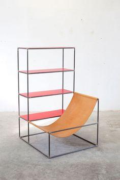 design-fjord: Rack + Seat - Muller Van Severen