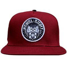 98ce340ccc5 Rebel8 Sewer King Snapback Cap Cardinal Men s Hats