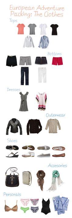 European Adventure Clothes