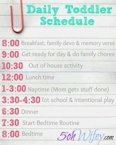 """Daily Toddler Schedule and Routine with Tot School and Intentional Play.pretty much what we already do, minus a """"nap period"""". Too many kids for me to get one of those. Toddler School, Toddler Play, Tot School, Toddler Learning, Toddler Activities, Learning Activities, Nanny Activities, Learning Goals, School Children"""