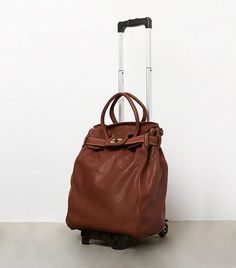 Free People Convertible Tuscan Rolly at Free People Clothing Boutique Best Carry On Bag, Rolling Bag, Boho Bags, Travel Style, Fashion Bags, Purses And Bags, Free People, Stylish, Convertible