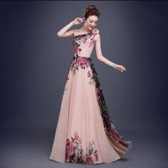 Beautiful Long Prom Dresses #Fashion #Musely #Tip