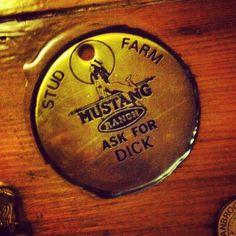Found in a redneck bar...