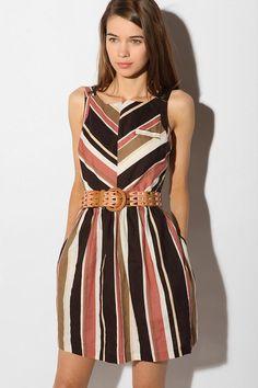 cooperative linen day dress