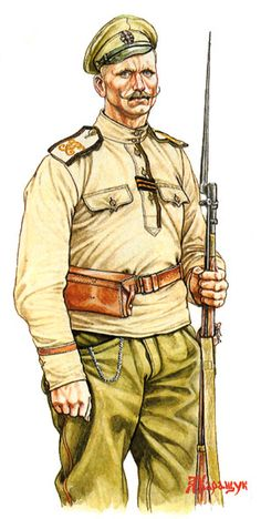 Private St. George Cross reserve infantry regiments, 1917.