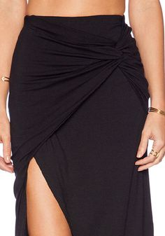 Black Knot Overlay Skirts-