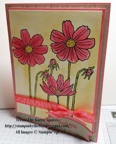 Stampin' By The Bay: Helping me grow and New Incolors